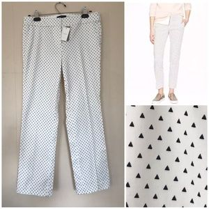 NWT J.Crew Campbell Triangle Cropped Trouser Pants